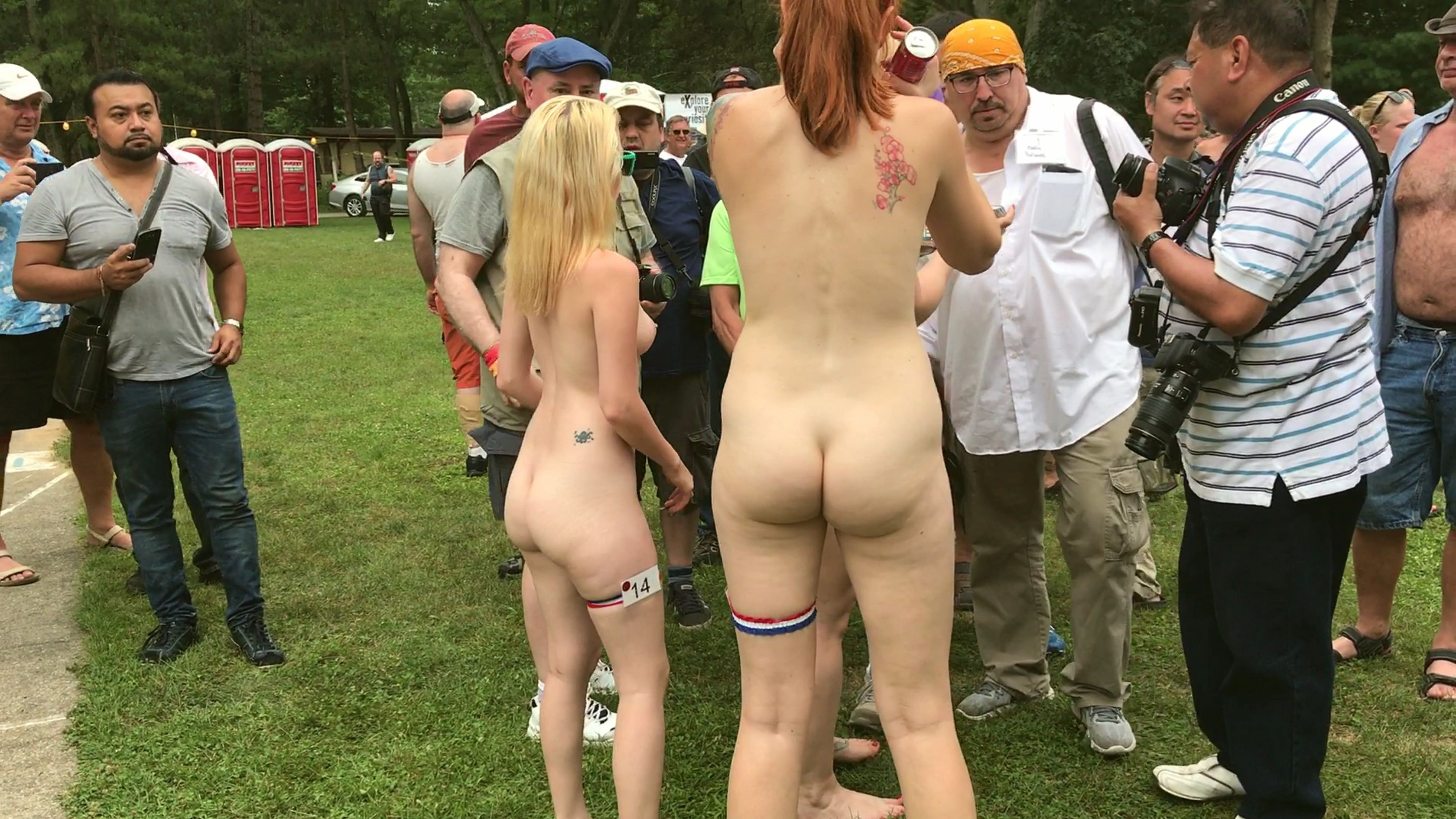Anna s and angelica nude in nude wimbledon